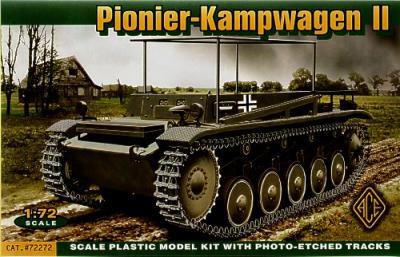 72272 - Pionier Kampfwagen II 1/72