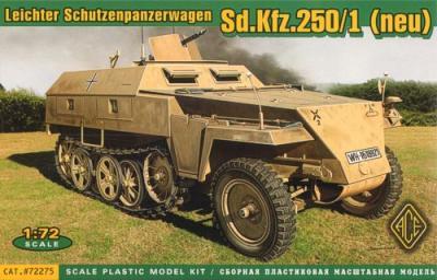 72275 - German Sd.Kfz.250/1 (neu) 1/72