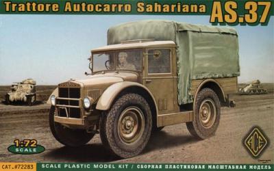 72283 - Trattore Autocarro Sahariana AS.37 1/72