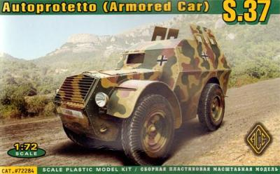 72284 - Autoprotetto S.37 (Armoured Car) 1/72