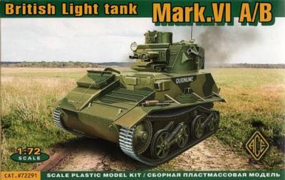 72291 - British Light tank Mark.VIA/B 1/72