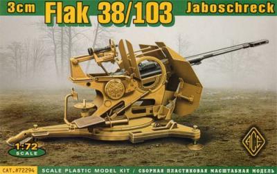 72294 - 3cm Flak 38/103 Jaboshreck 1/72