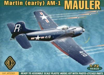 72301 - Martin AM-1 Mauler early version 1/72