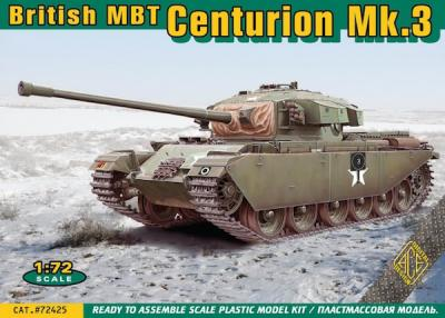 72425 - Centurion Mk.3 British main battle tank 1/72
