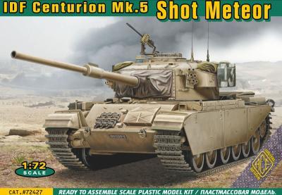 72427 - IDF Centurion Mk.5 Shot Meteor 1/72