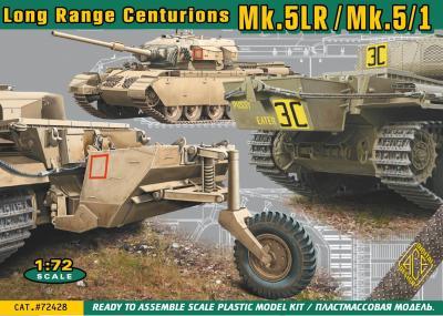 72428 - Centurion Mk.5LR/Mk.5/1 with external fuel tanks 1/72