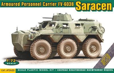 72433 - FV-603B Saracen armoured personnel carrier 1/72