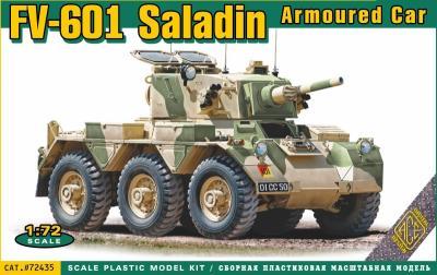 72435 - FV-601 Saladin armoured car 1/72
