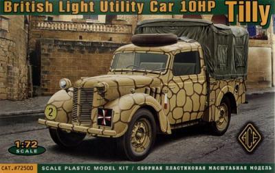 72500 - Austin 10HP 'Tilly' British Light Utility Car 1/72