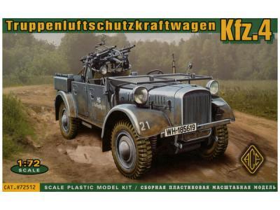 72512 - Kfz.4 light AA support car 1/72