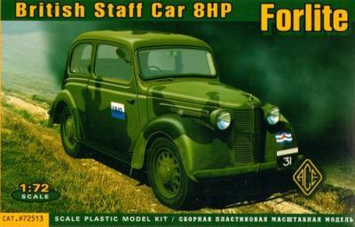 72513 - British Staff Car Forlite Saloon 8HP mod.1939 1/72