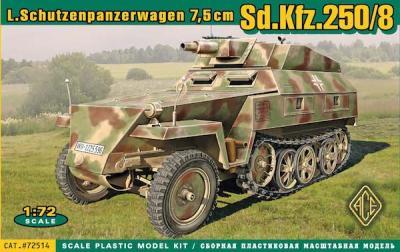 72514 - German Sd.Kfz.250/8 Stummel 1/72
