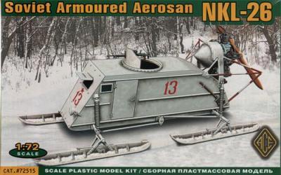 72515 - NKL-26 Soviet WW2 Aerosan 1/72