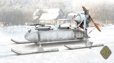72517 - Aerosan 98K Russian WWII 1/72