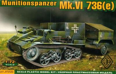 72520 - Munitionspanzer Mk.VI 736(e) Ammo carrier on Mk.VI 736(e) chassis 1/72