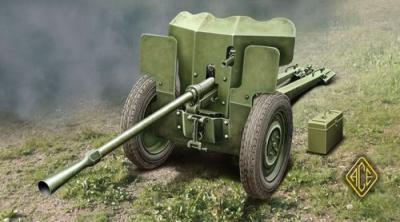 72523 - French 25mm Anti-tank gun S.A. Mle 1934 1/72