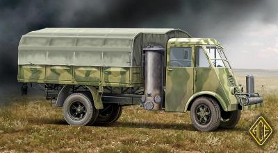 72532 - French 3,5t truck AHN with Gas generator 1/72
