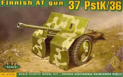 72534 - Finnish anti-tank gun 37 PstK/36 1/72