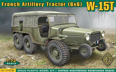 72536 - W-15T French WWII 6x6 artillery tractor 1/72