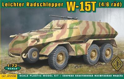 72538 - W-15T (4/6 rad) Leichter Radschlepper 1/72