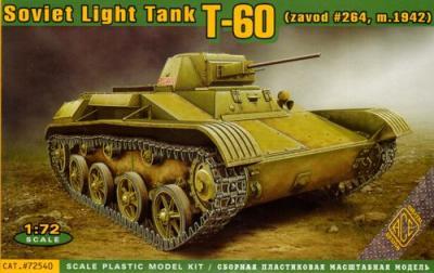 72540 - Soviet T-60 Light Tank 1/72