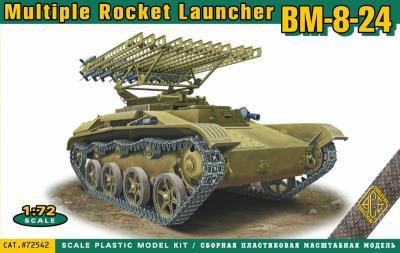 72542 - BM-8-24 multiple rocket launcher 1/72