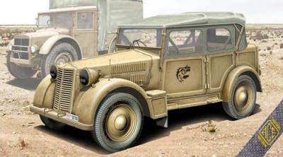 72548 - Italian light military vehicle 508 CM Coloniale 1/72