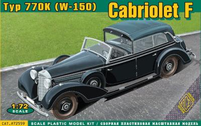 72559 - Typ 770K (W-150) Cabriolet F 1/72
