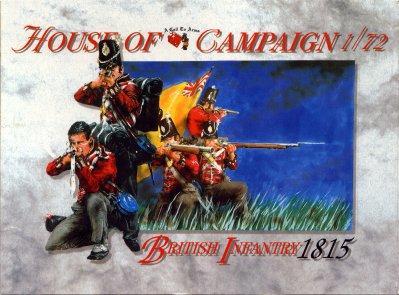 50 - British Infantry 1815 1/72