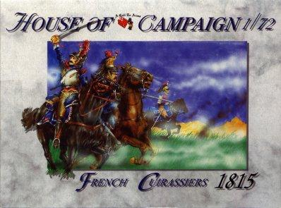 51 - French Cuirassiers 1815 1/72