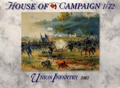 55 - Union Infantry 1861 1/72