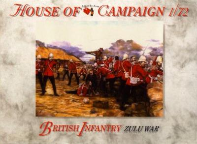 57 - British Infantry Zulu War 1/72