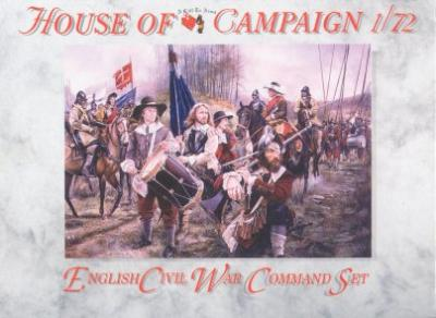 62 - English Civil War Command Set 1/72