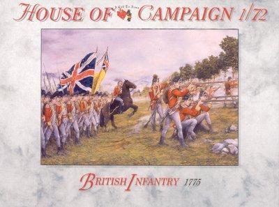 65 - British Infantry 1775 1/72