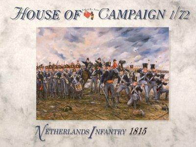 66 - Netherlands Infantry 1815 1/72