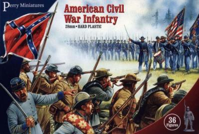 ACW1 - American Civil War Infantry 28mm