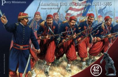 ACW70 - American Civil War Zouaves 28mm