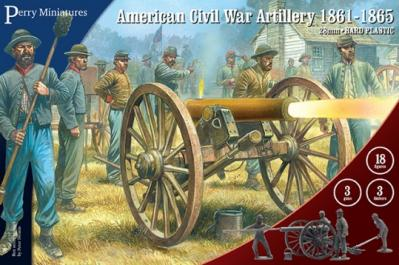 ACW90 - American Civil War Artillery 28mm