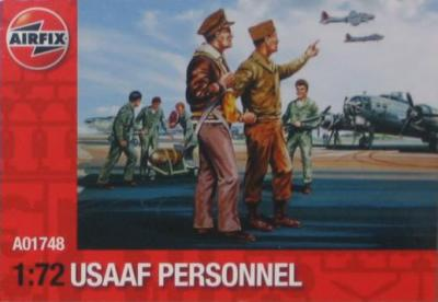 A01748 - USAAF Personnel 1/72