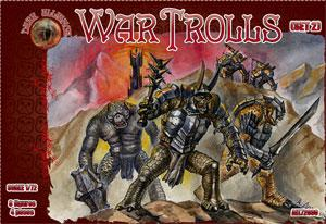 72031 - War Trolls Set 2 1/72
