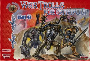 72033 - War Trolls for catapult Set 4 1/72