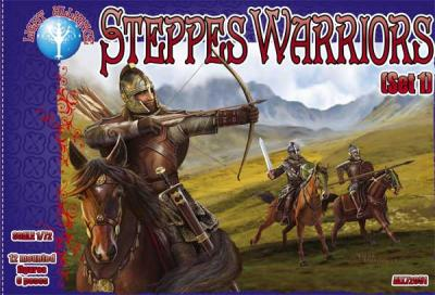 72051 - Steppes Warriors Set 1 1/72