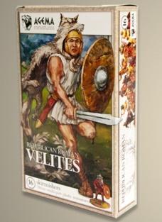 RR001 - Republican Romans Velites 28mm