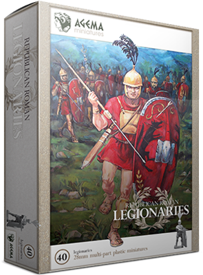 RR002 - Republican Roman Legionaries 28mm