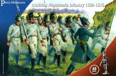 AN40 - Napoleonic Austrian Infantry 28mm