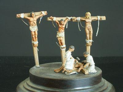 ant-001 - Crucifixion 1/72
