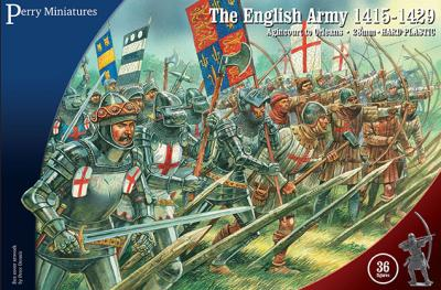 AO40 - The English Army 1415-1429 28mm