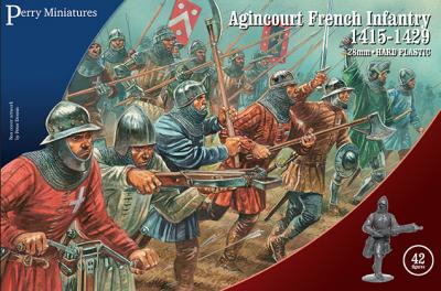 AO50 - Agincourt French Infantry 28mm