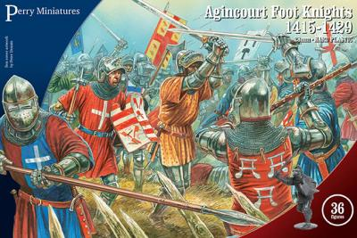 AO60 - Agincourt Foot Knights 28mm