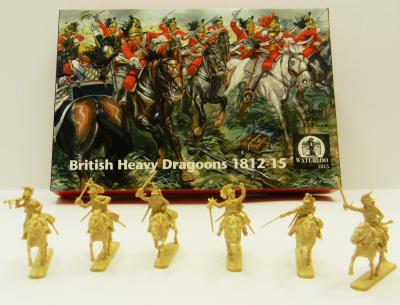 AP053 - British Heavy Dragoons 1812-1815 1/72